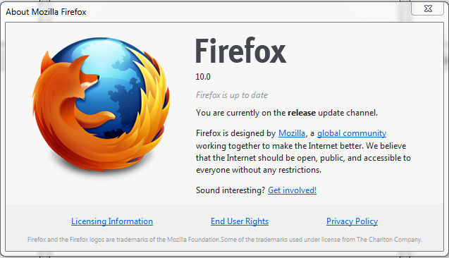 Firefox 10 released with Extended Support Release for Businesses