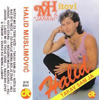 Halid Muslimovic - Diskografija (1982-2016)  Halid%2BMuslimovic%2B1989-1%2B-%2BTakav%2BSam%2BJa