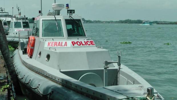Kerala Police - Fiber Reinforced  Interceptor Boats