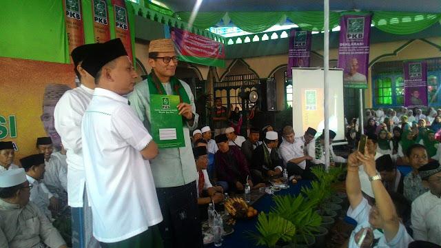 PKB Ancam Cabut Dukungannya jika Sandiaga Pilih Wakil dari PKS