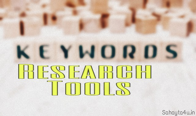 Best 4 Keyword Research tool for beginners