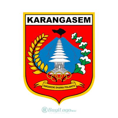 Kabupaten Karangasem Logo Vector