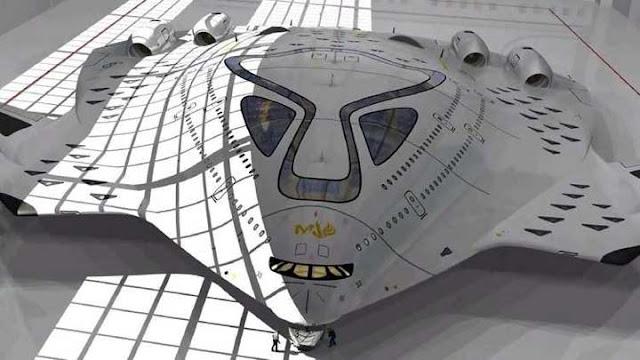 طائرة تعمل بالطاقة النووية