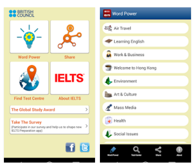 gambar aplikasi IELTS Wordpower