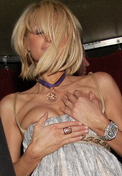 Paris hilton sex scene