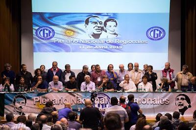 El Frente Sindical llamó a un paro general para el 30 de abril