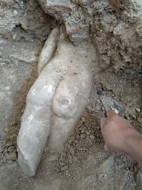 Third Venus discovered at Granada's Roman Villa of Salar