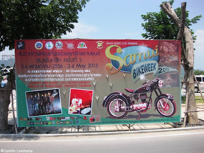 Samui Bike week 3-4 May 2013