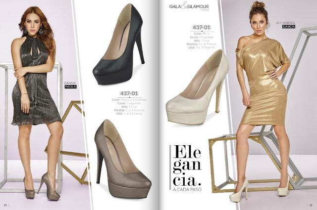 Zapato de fiesta cklass gala y glamour 2016 OI