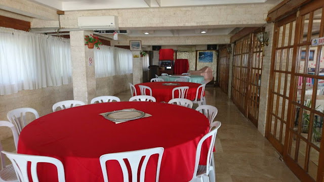 function room at Santa Fe Beach Club