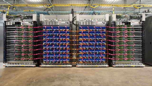 Google membawa 45 teraflops tensor flow processor ke komputasi awan-nya