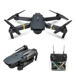 EACHINE E58 Cuadricópteros Mini Drone RC Drone Plegable con HD cámara 2.0MP 720P