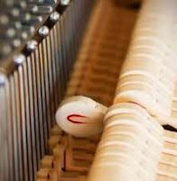 upright piano felt hammers