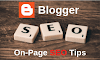 6 On Page SEO Tips For Blogger - Techraazz