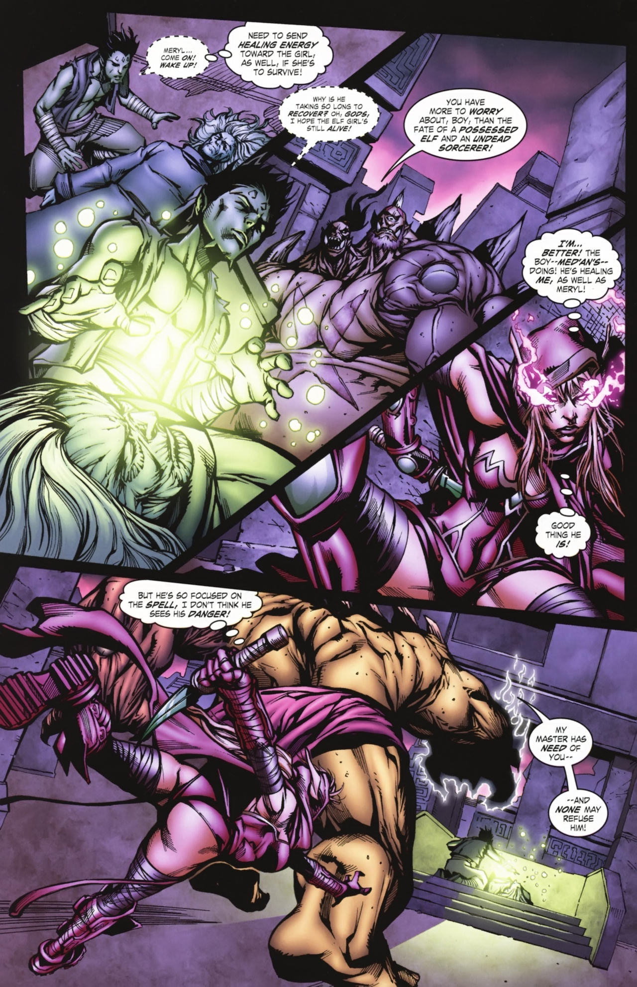 Read online World of Warcraft comic -  Issue #20 - 13