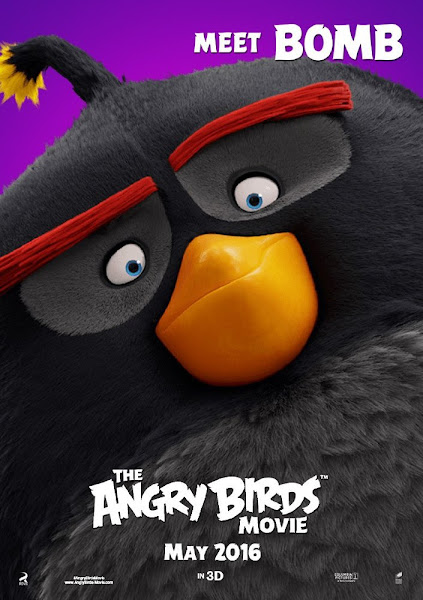 Poster Of The Angry Birds Movie 2016 720p Hindi BRRip Dual Audio Full Movie