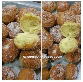 Resepi Donut Tanpa Telur