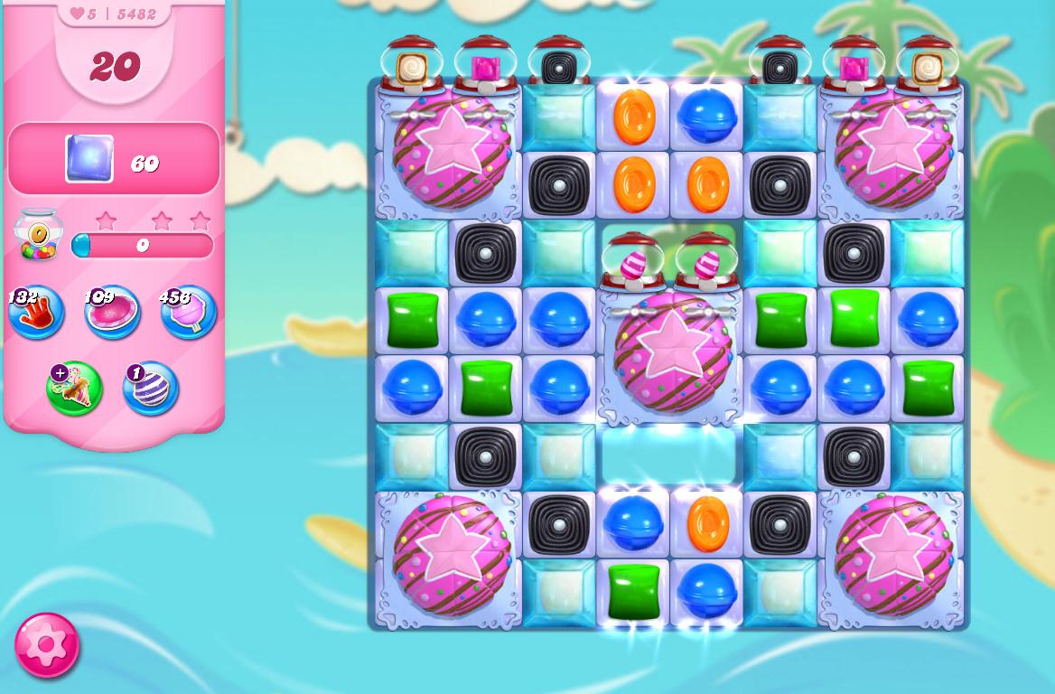 Candy Crush Saga level 5482