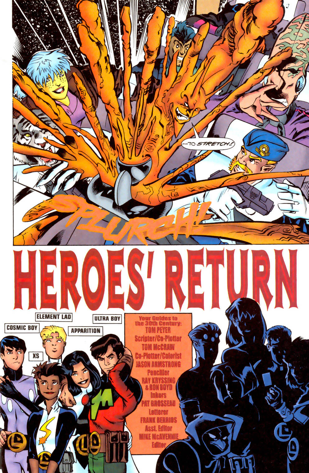 Legion of Super-Heroes (1989) 104 Page 3