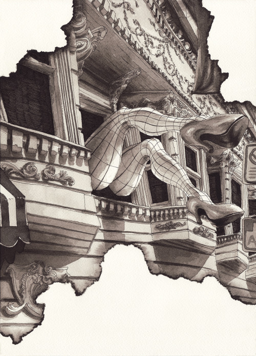 12-Paul-Madonna-Architectural-Drawings-from-The-Eviction-Series-www-designstack-co