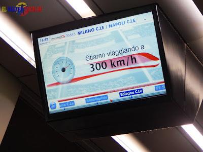 Tren de alta velocidad Italia