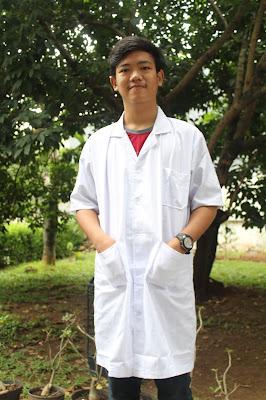harga  seragam jas laboratorium Lengan Pendek 0812-1350-5729