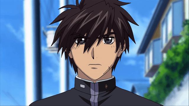 Sousuke Sagara menyamar menjadi pelajar untuk menjalankan misinya sebagai agen rahasia