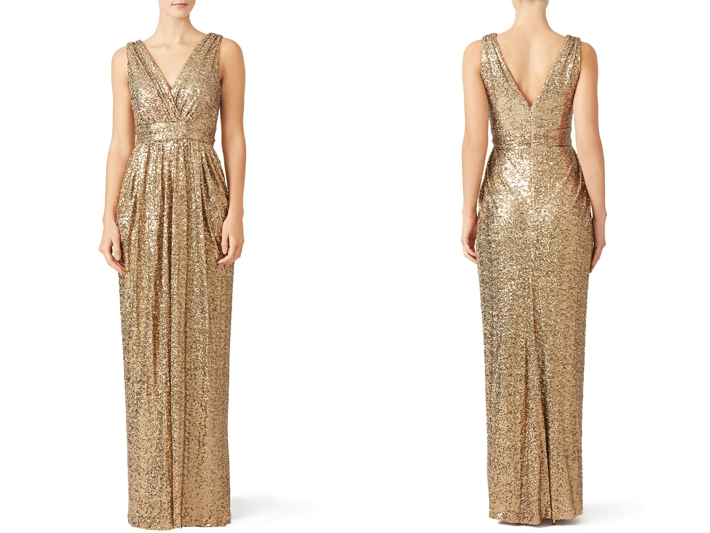 Best Gold Bridesmaids Dresses