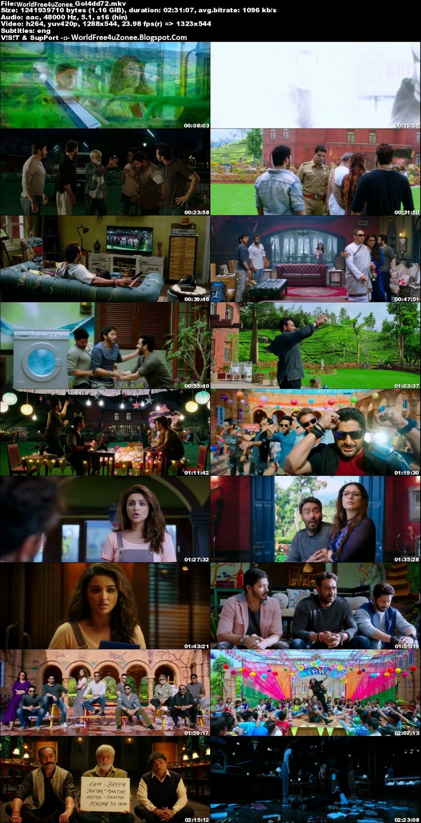 Golmaal Again (2017) Hindi DVDRip 720p 1.2GB Full Movie Free Download And Watch Online Latest Bollywood Hindi Movies 2017 Free At WorldFree4uZonee.Blogspot.Com