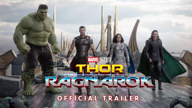 Poster of Marvel's Newest Thor : Ragnarok movie with the release of it trailer