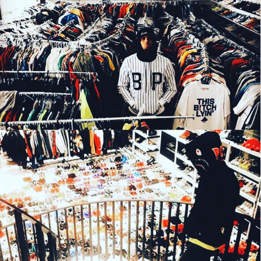 Wait... Is This A Boutique or Chris Brown's Closet? | See Photo