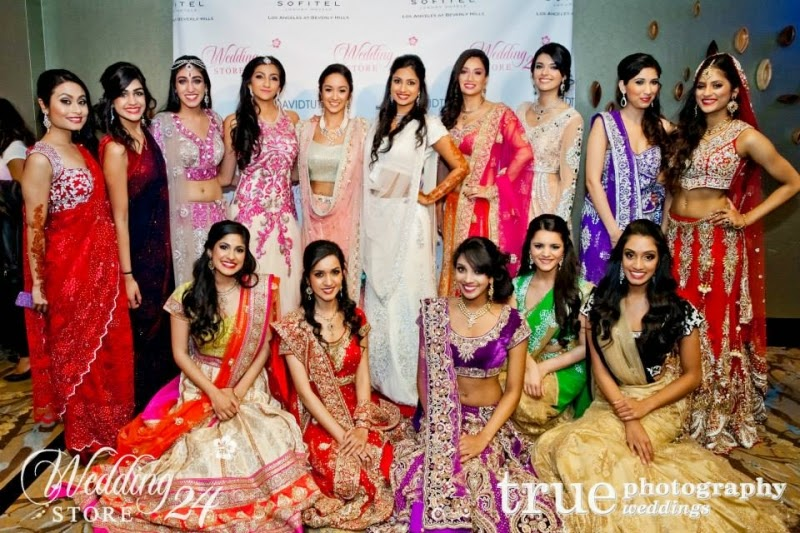 Indian bridal fashion show