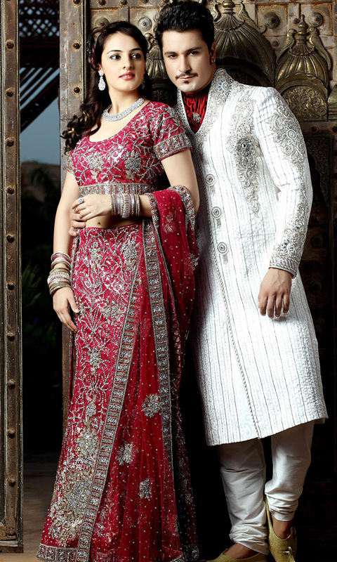 pakaian tradisional kaum india lelaki dan perempuan