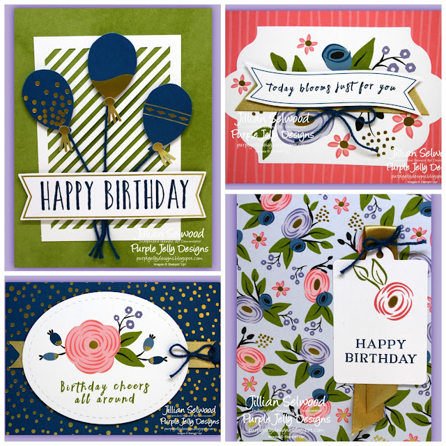 Perennial Birthday Project kit, Happy birthday Cards
