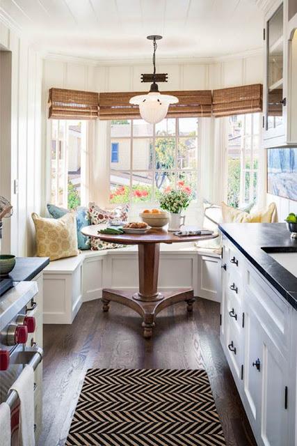 Banks Under Windows in Kitchens 4