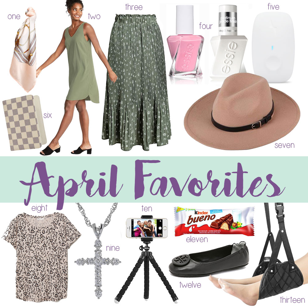OKC Blogger Amanda Martin's April Favorites 2019