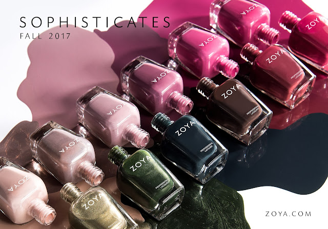 FALL 2017 - ZOYA SOPHISTICATES