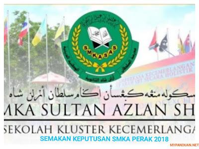 Semakan Tawaran SMKA Perak Online 2018