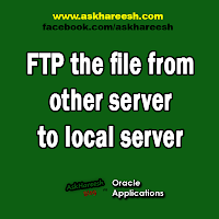 FTP the file from other server to local server