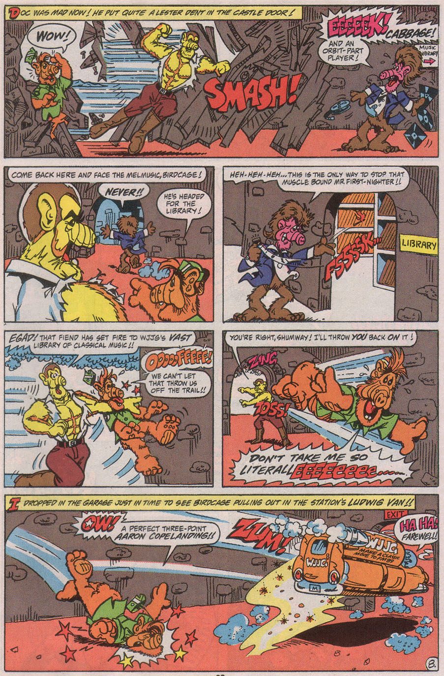 Read online ALF comic -  Issue #41 - 31