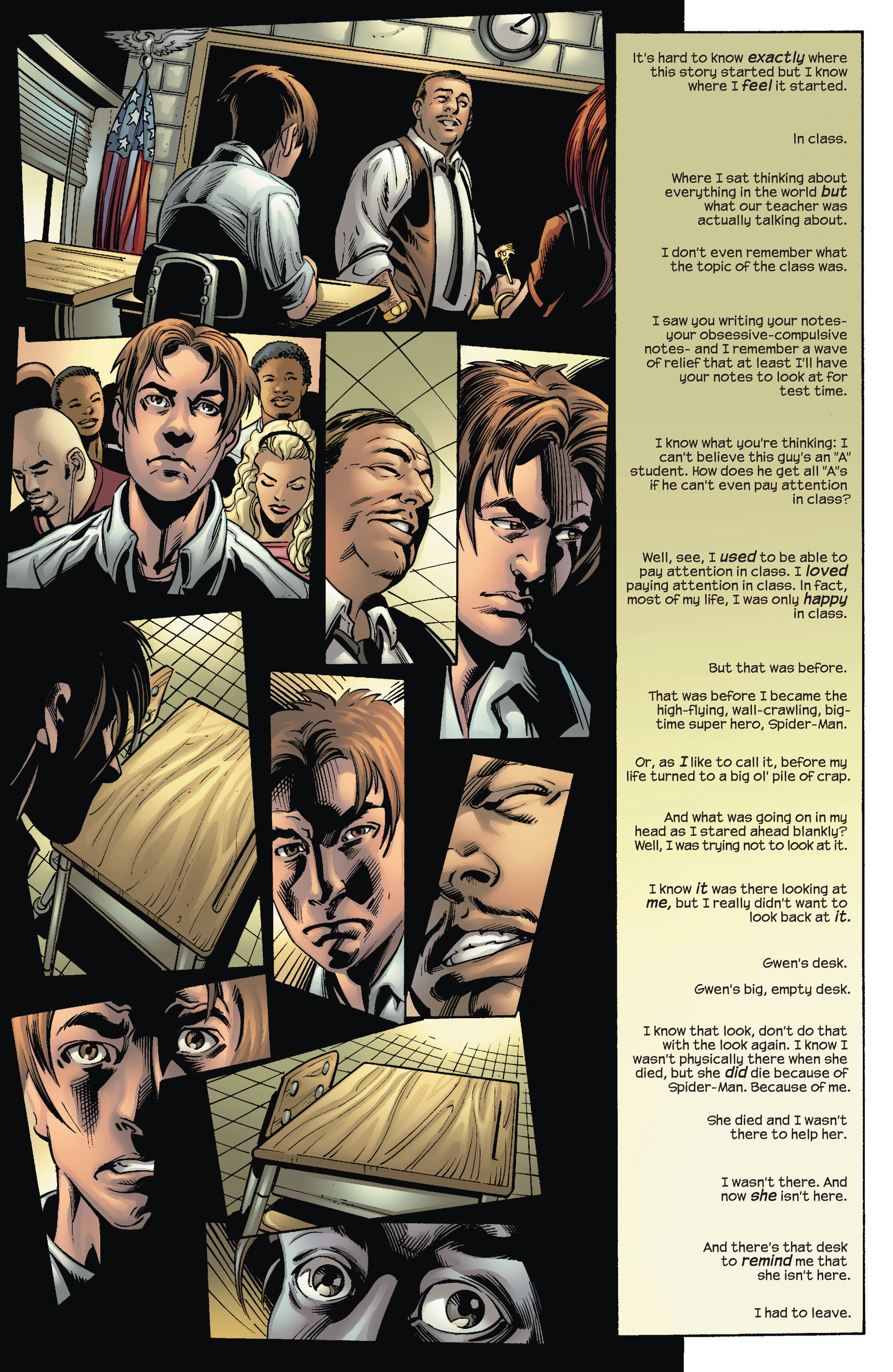 Read online Ultimate Spider-Man (2000) comic -  Issue #70 - 5