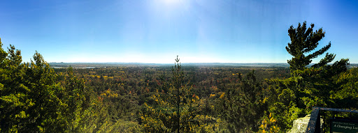 View from the Castle Mound Overlook