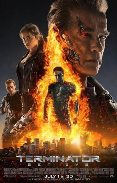 Poster Of Terminator Genisys 2015 720p BluRay Dual Audio