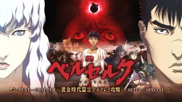 Berserk Golden Age Arc II Subtitle Indonesia