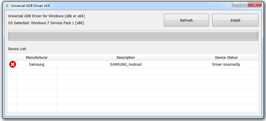 Download Universal ADB Driver v4.0