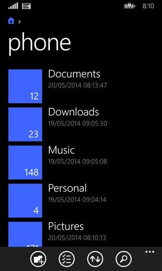 Sekarang File Manager Resmi Windows Phone 8.1 Tersedia