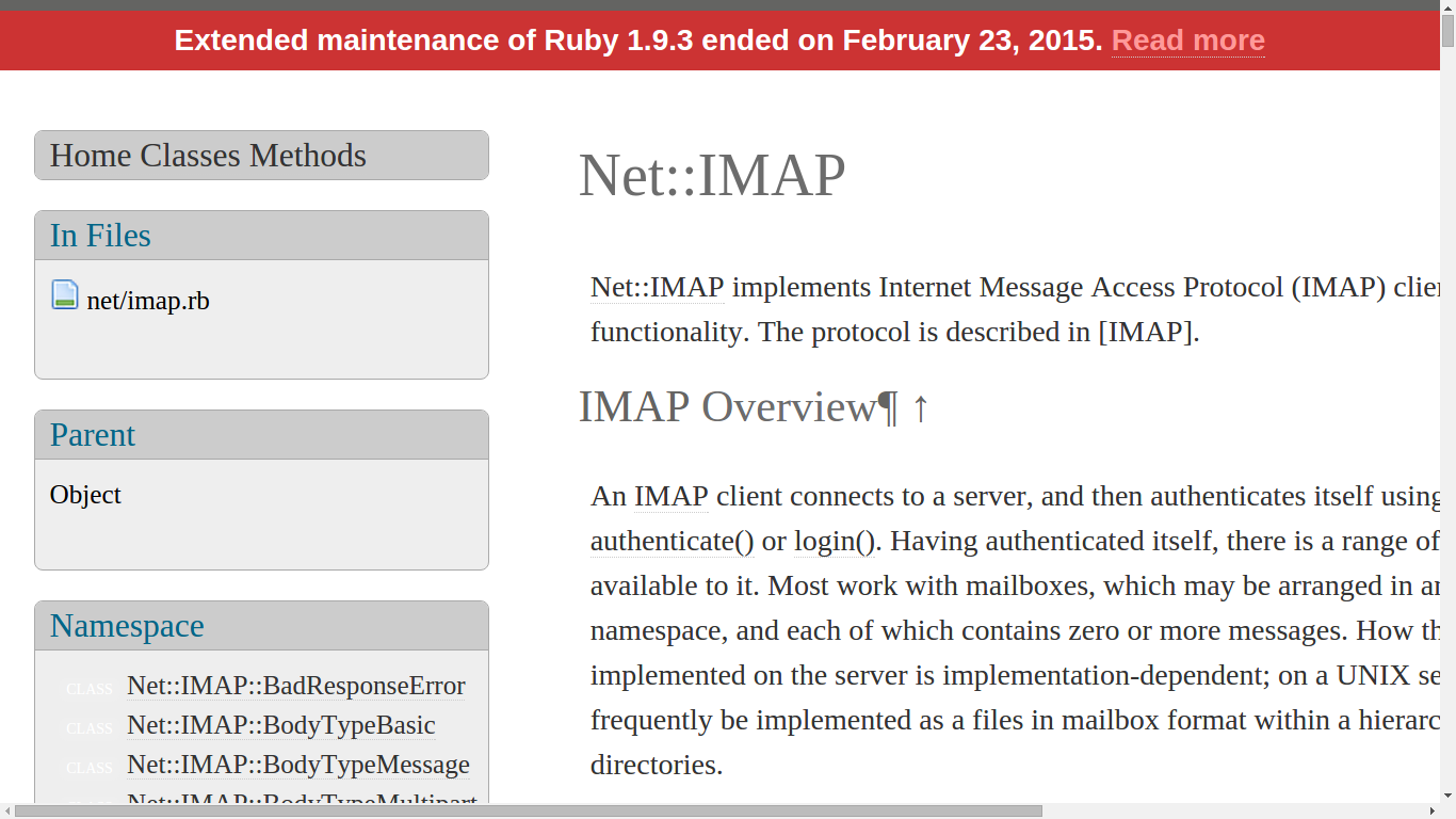 Receive emails from gmail or any other email provider ( IMAP Ruby On