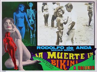 Cartel de cine: La muerte en bikini (1967)