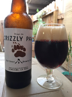 Bird Street Grizzly Paw Brown Ale 1