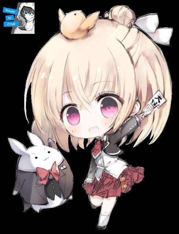 Render Hanakoizumi An CHIBI